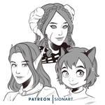 Patreon special portraits
