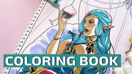 Coloring book: video cover