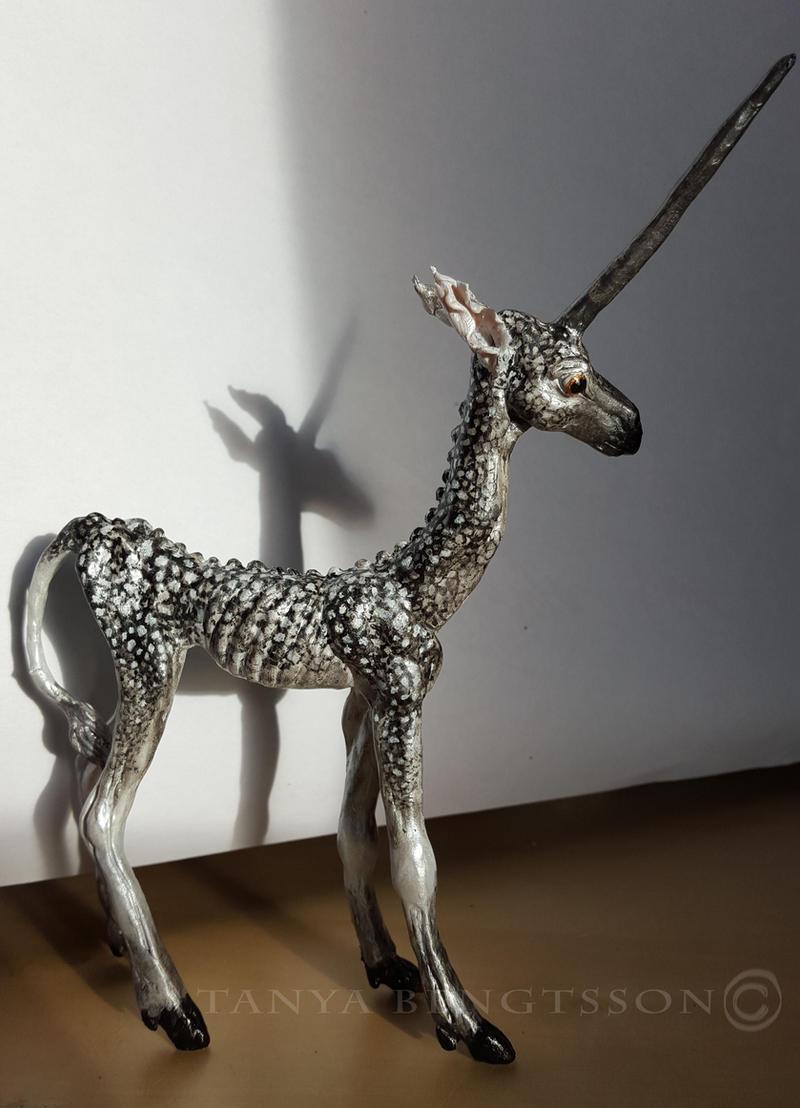 Unicorn Sculpture by RaggedVixen