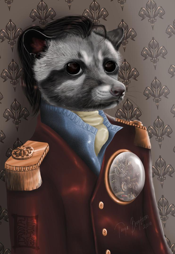 Steampunk Civet - AC # 137 by RaggedVixen