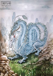 Asian Dragon by RaggedVixen