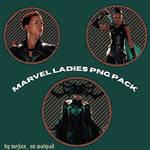 MARVEL LADIES PNG PACK
