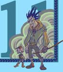 Zaraki and Yachiru by Skuzzbucket