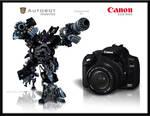 Ironhide as Canon EOS 350D