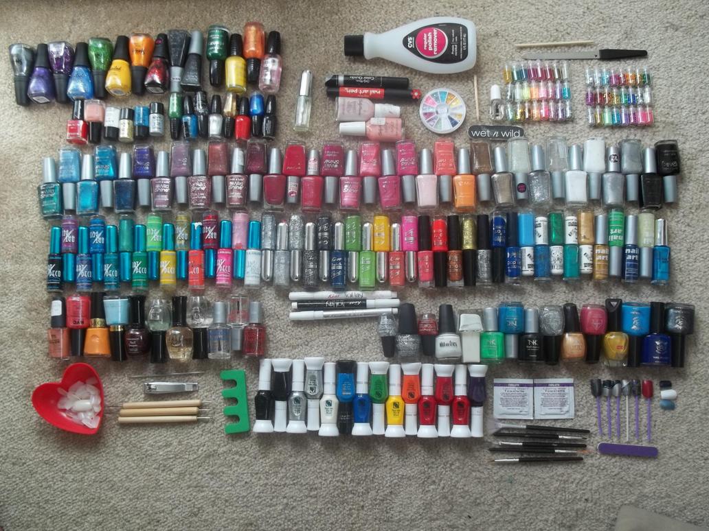 My Nail Polish Collection As Of Feb 20 2013 By Kari Style