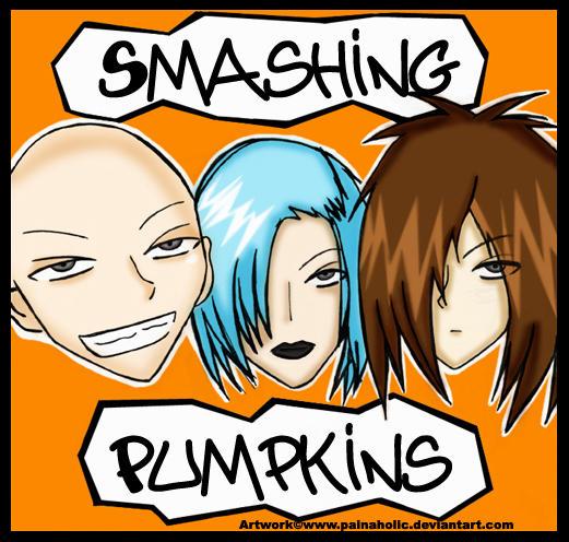Smashing Pumpkins Toons by Mahadesu