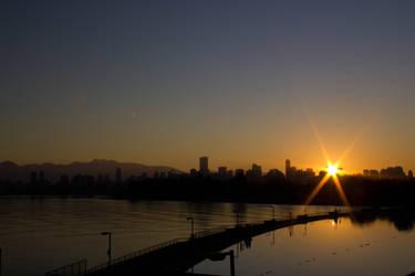 Good morning Kitsilano by ChloeGPhotography