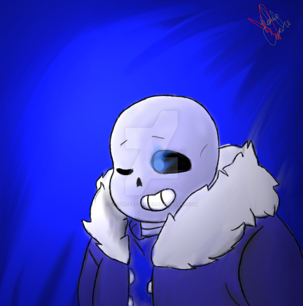 Experimenting with Sans by CC-The-Destroyer