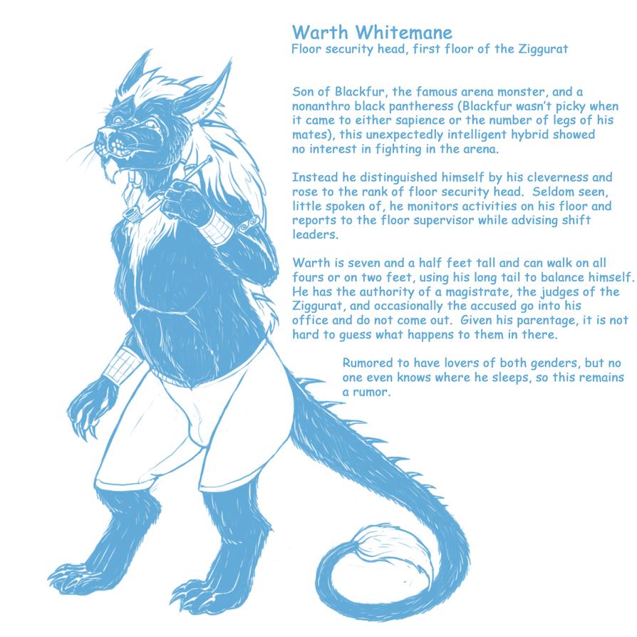 Warth Whitemane by Greedywoozle