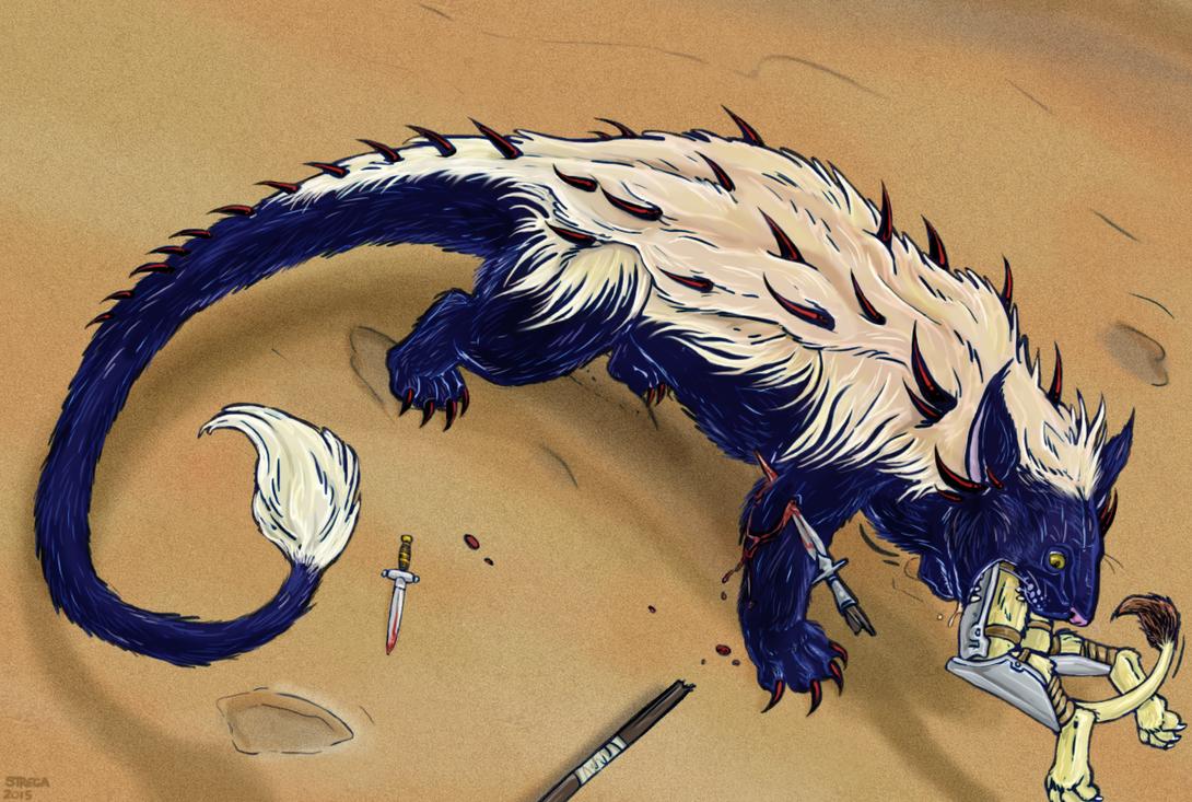 Blackfur (color) by Greedywoozle