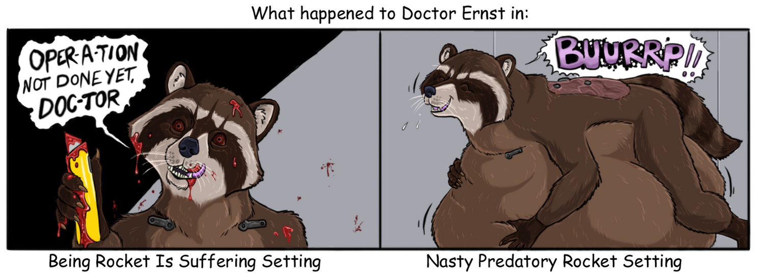The fate of Doctor Ernst (color) by Greedywoozle