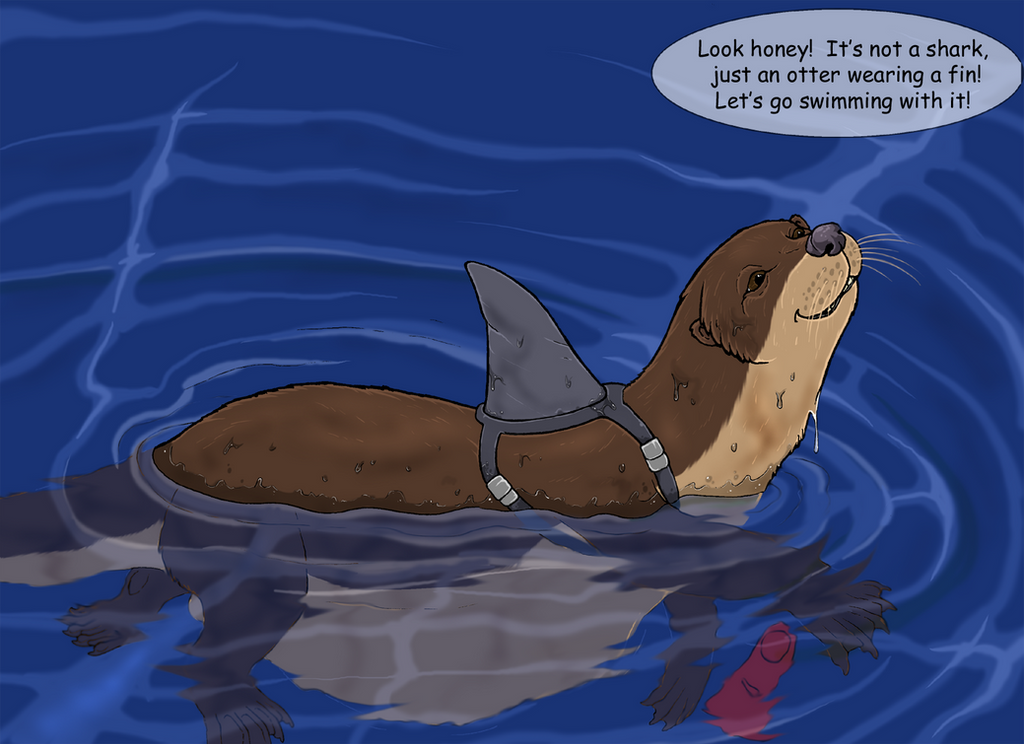 Ottershark by Greedywoozle