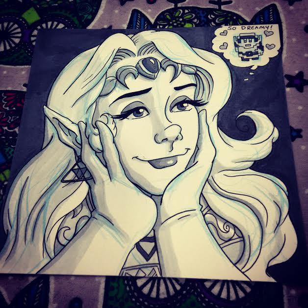 I Dream of Link by Jaymzeecat