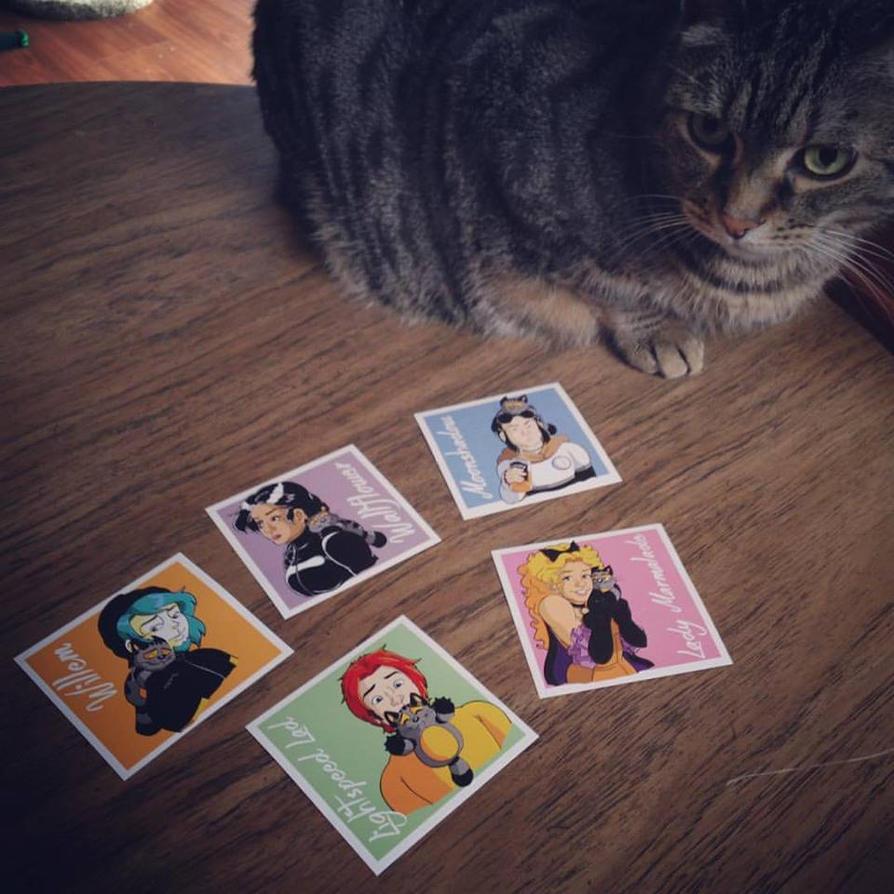 Willem Stickers Are In by Jaymzeecat