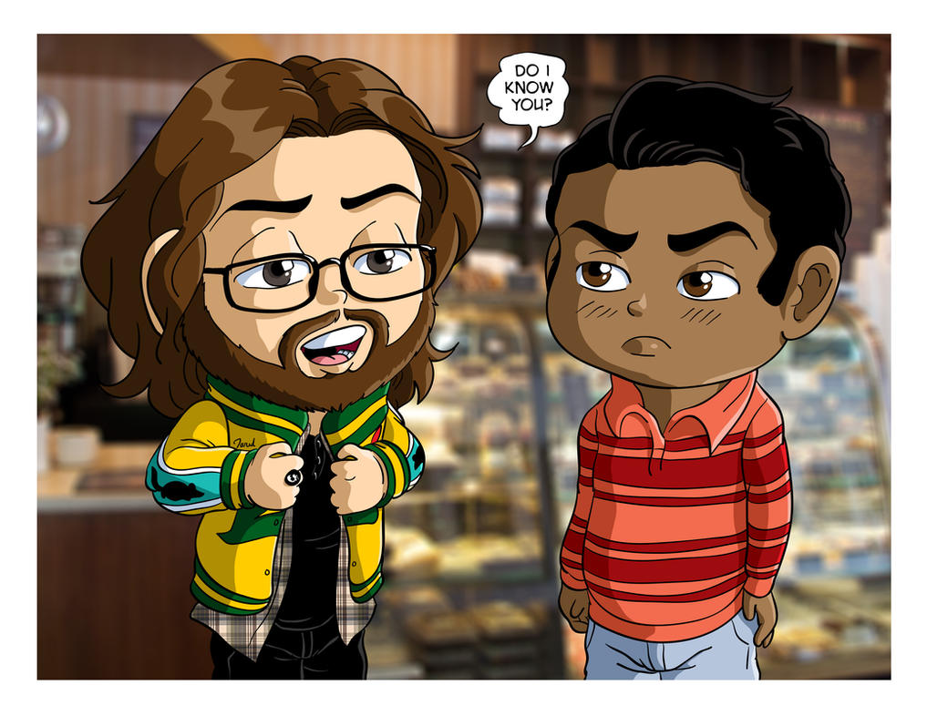 Silicon Valley Gilfoyle and Dinesh by Jaymzeecat
