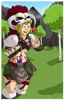 Barbarian Armor Link by Jaymzeecat