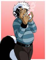 Buy Vincent a Coffee by Jaymzeecat