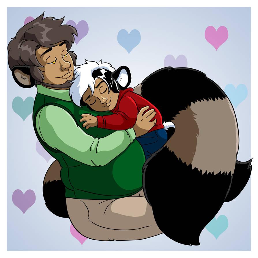 Safe Little Skunk