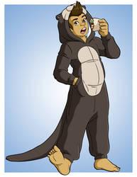 Titus Otter by Jaymzeecat