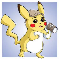 Detective Pikachu by Jaymzeecat