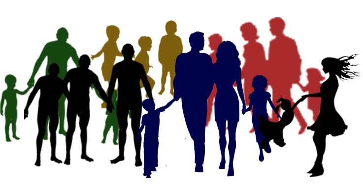 Church Family And Friends Clipart