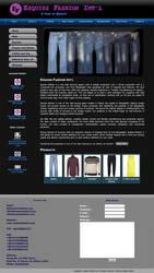 Esquiss Fashion Website by qazinahin