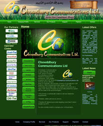 Chowddhury Communications Ltd Website by qazinahin