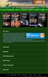 Chowddhury Communications Ltd Service Page by qazinahin