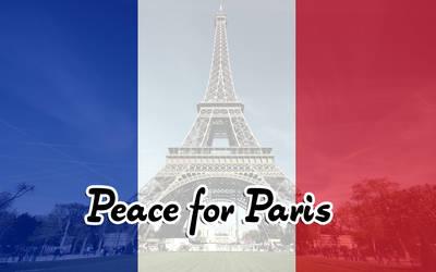 Peace for Paris by qazinahin