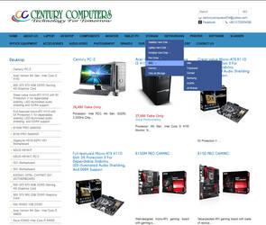 Century Computers Website by qazinahin