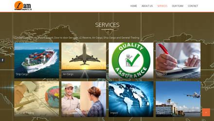 I am International Services Page by qazinahin