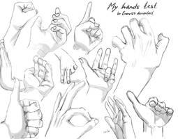 Hands Test By Enara123 by Enara123