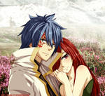 Colored 419_Jellal and Erza