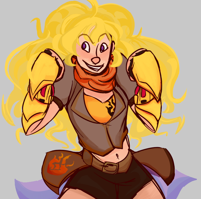 Yang Xiao Long Wallpaper: Yang Xiao Long By Honey-shuckles On DeviantArt