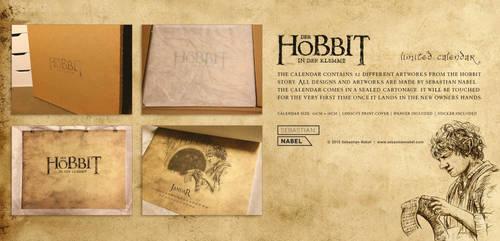 The Hobbit Calendar by Sebastian-Nabel