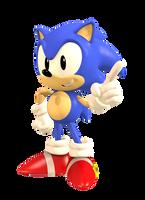 Classic Sonic by DoodleyStudios
