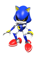 Metal the Sonic by DoodleyStudios