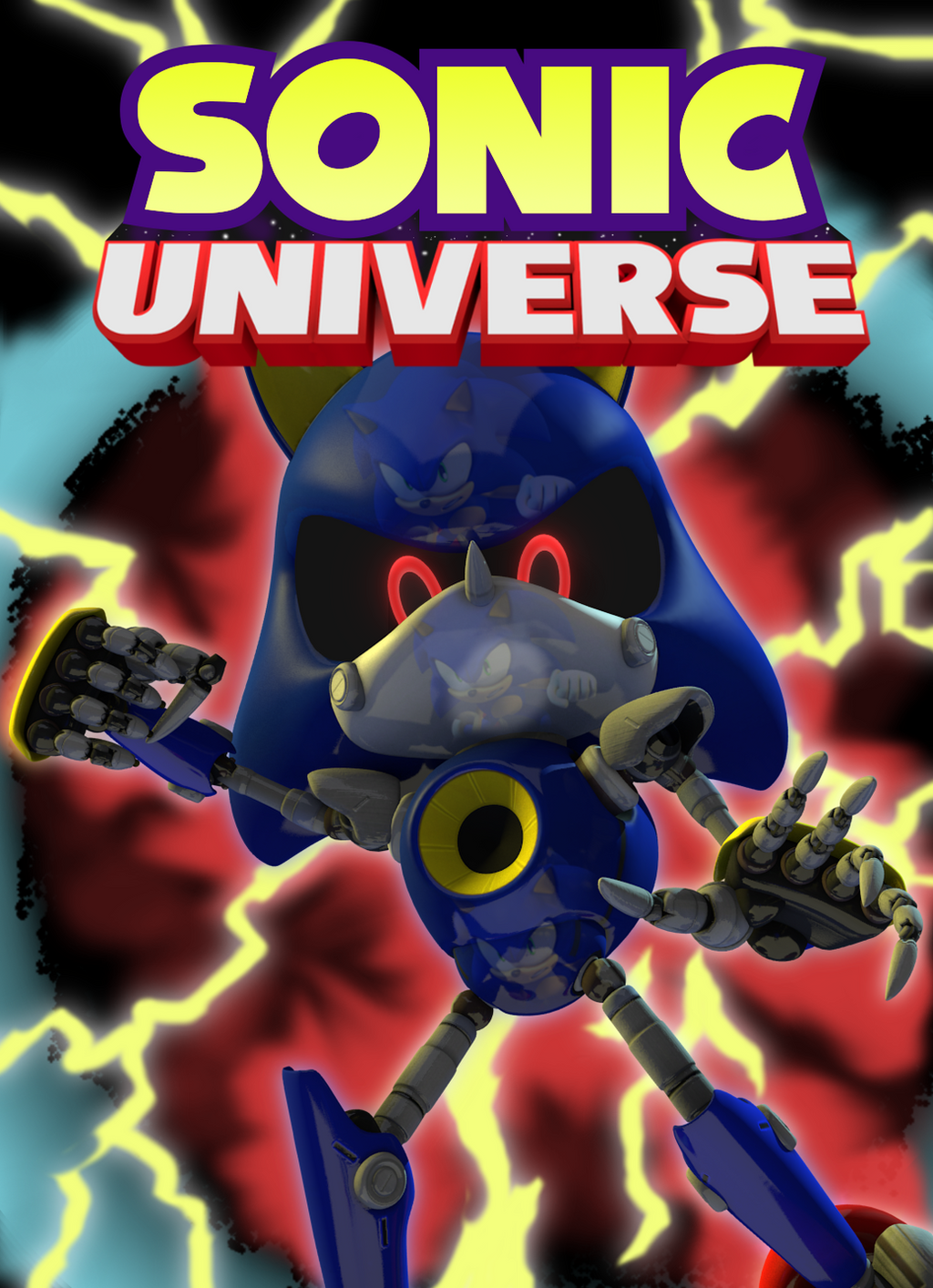 Sonic Universe 50 In 3 Dimensions By Doodleystudios On