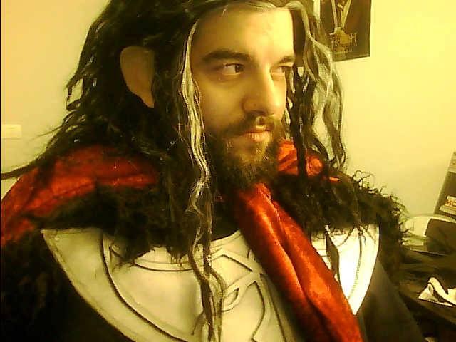Thorin - Laketown cerimonial costume by AlexOakenshield