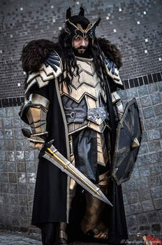 Thorin, son of Thrain, son of Thror.