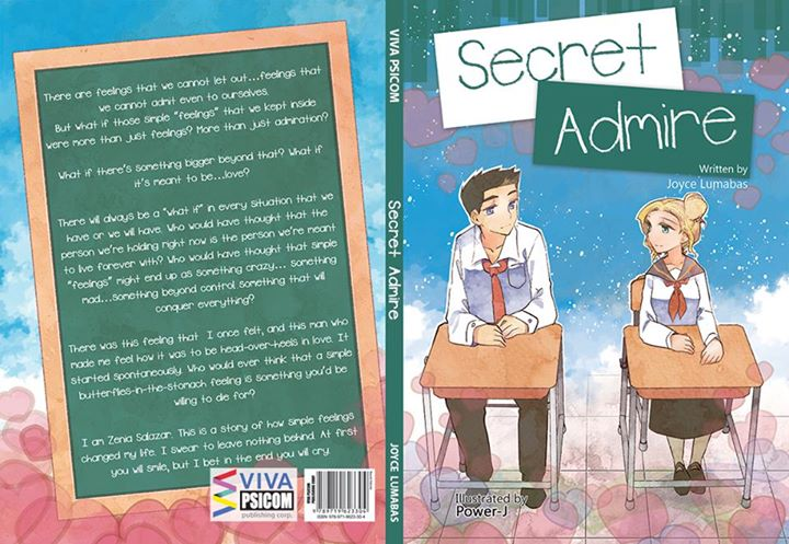 Novel cover - Secret Admire by Power-J