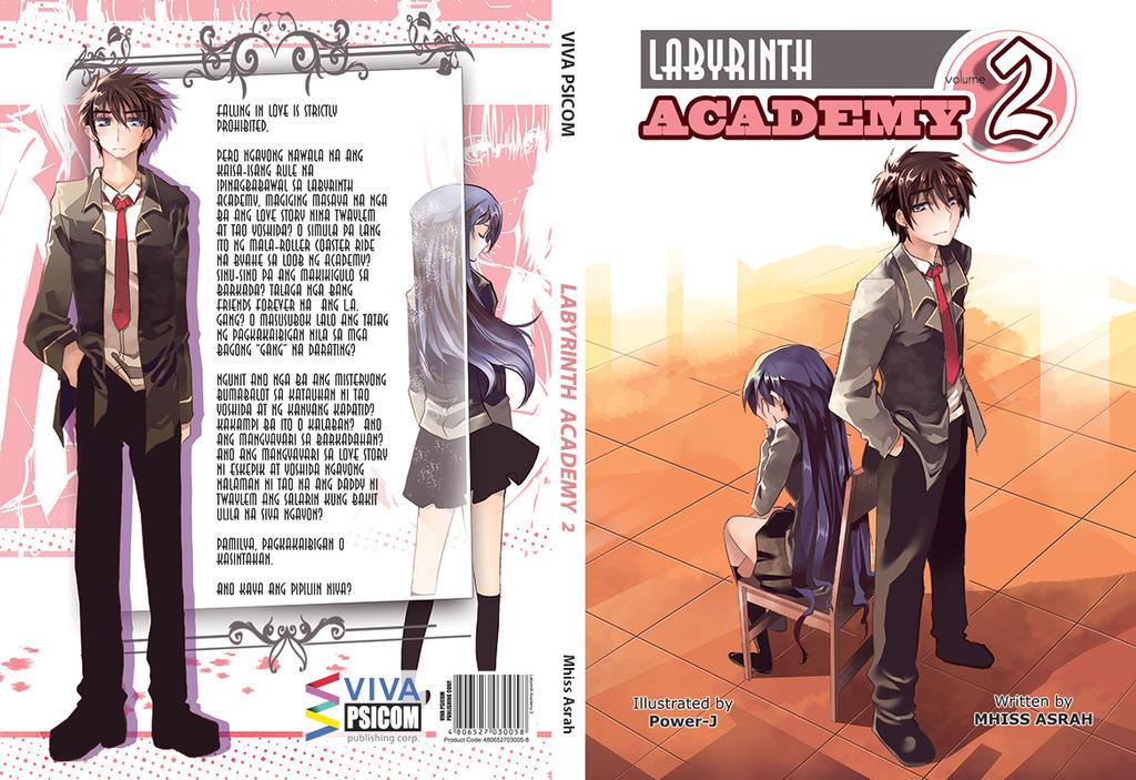 Novel cover - Labyrinth Academy 2 by Power-J