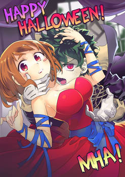 Happy Halloween! MHA!