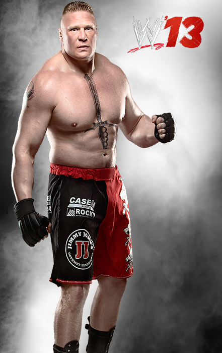 WWE13 Brock Lesnar By Mizster