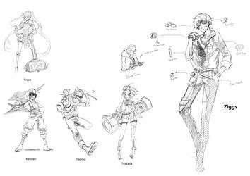 Yordles Anthropomorphic by ElementB13