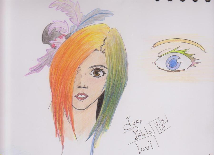 iris haired by juanpablolv