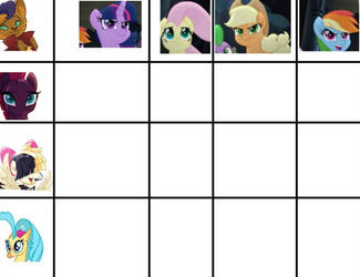 Mlp grid chart (OPEN) by AdoptieBoo