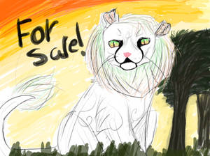for sale! Rainbow lion (OPEN)