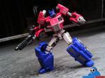 Fall of Cyberton Optimus Prime