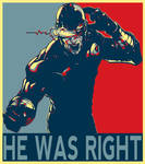 Cyclops Was Right Poster